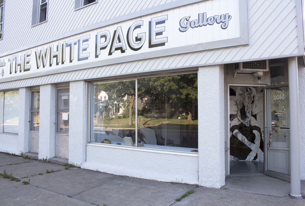 It Never Ends @ the white page gallery • summer residency 2016