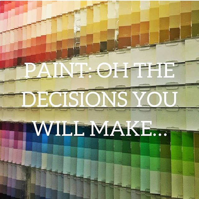 Choosing a paint color is kind of a big deal. If you need some help, check out my latest blog post. There's a lot more decision making going into that dining room wall than you may think! http://bit.ly/SSIblog44  #InteriorDesign #PaintColor #FlatorMatte #Decisions