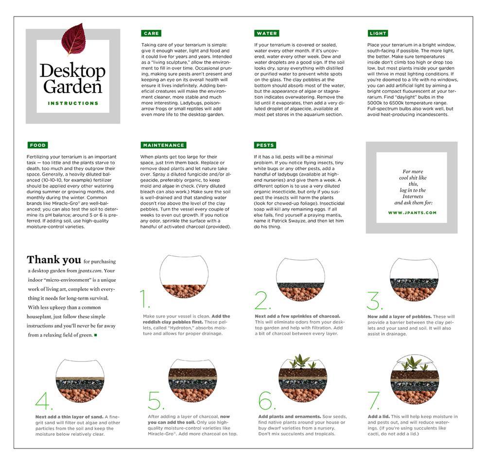 Terrarium Instructions Images Form 1040 Instructions
