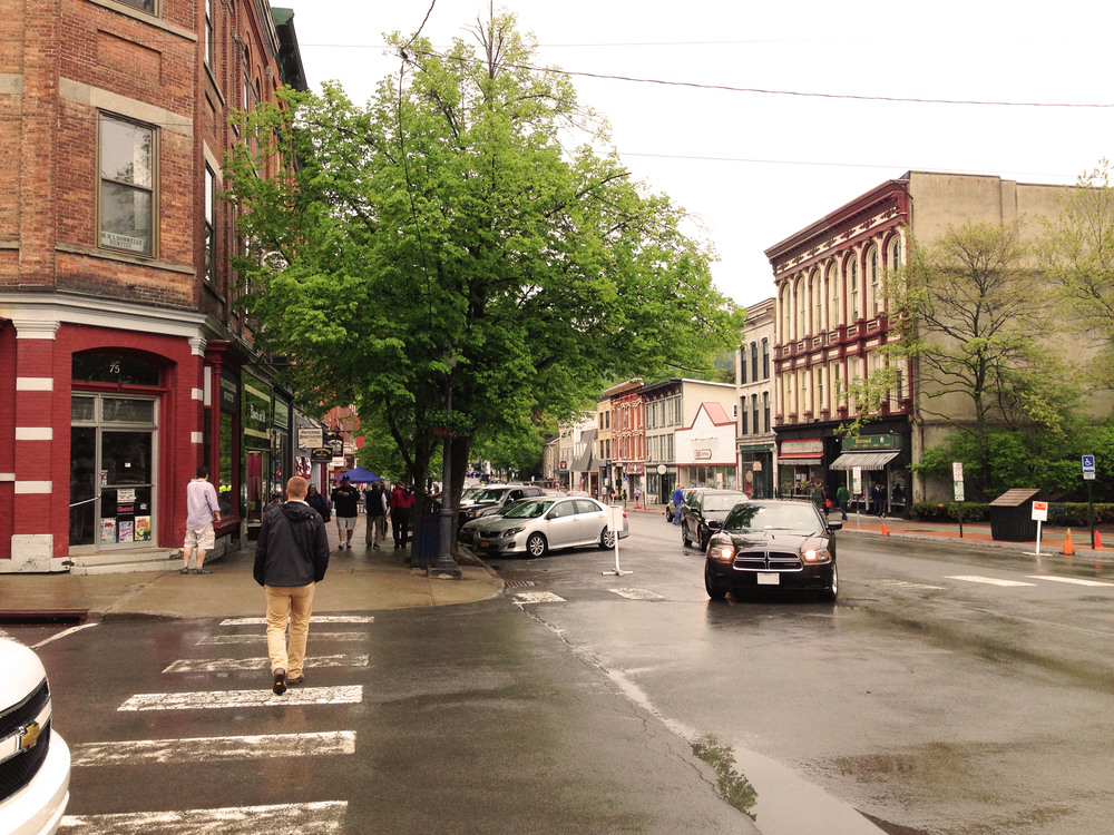 Cooperstown, NY is a small town with a strong local identity and restaurants that emphasize locally sourced foods.