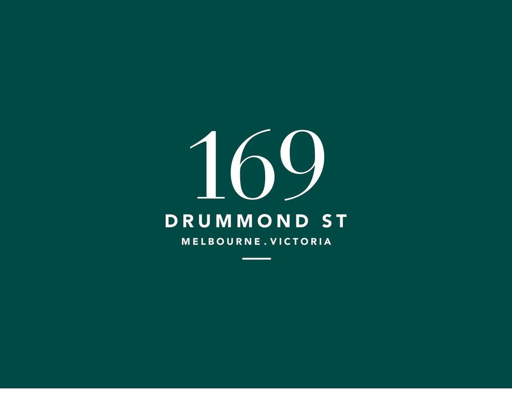 169 drummond street logo design
