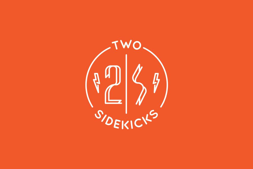 two sidekicks branding design logo design