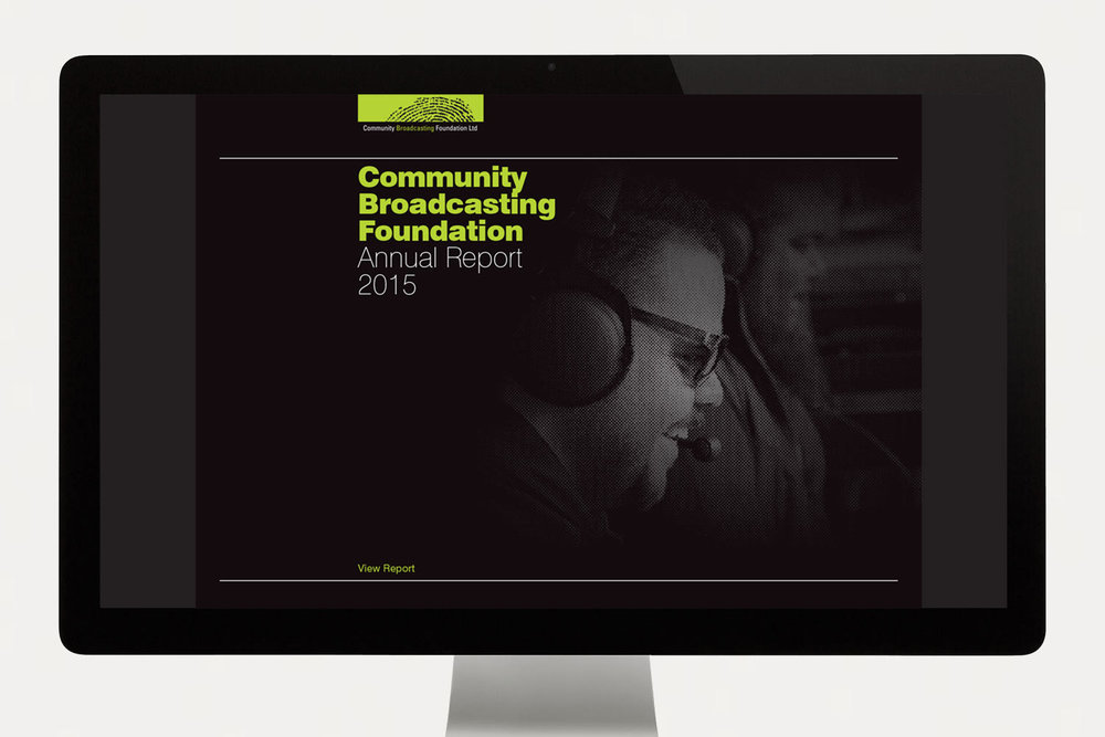 CBF Annual Report Cover