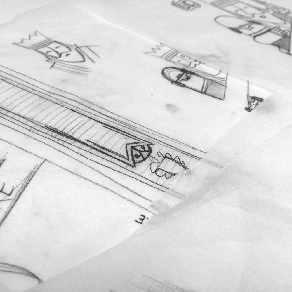 the duke working illustrations