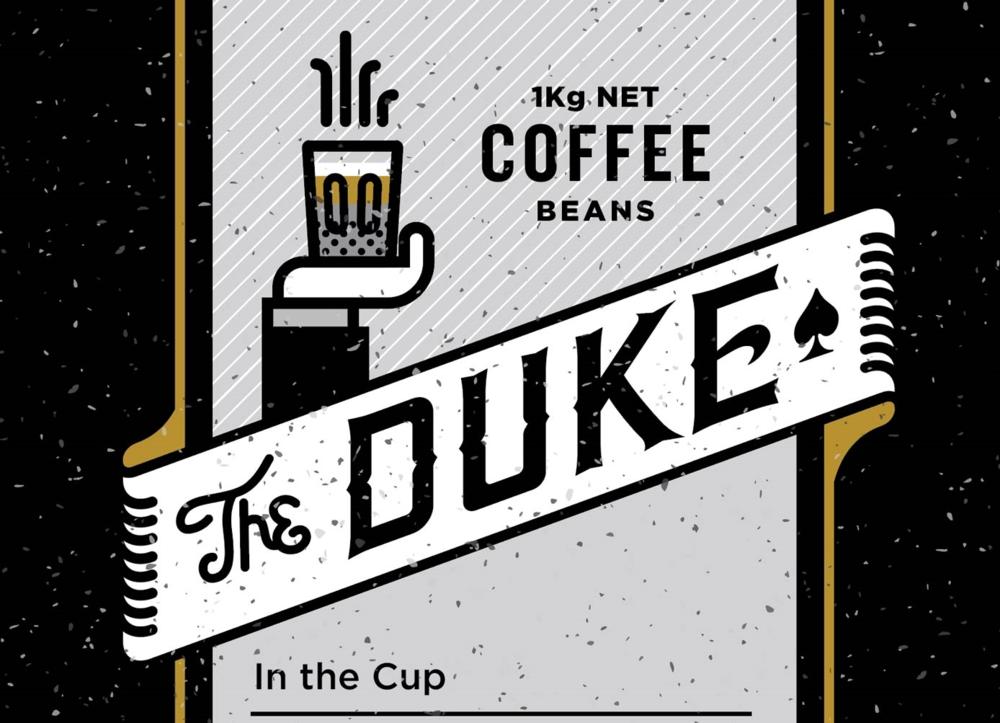 the duke custom typography