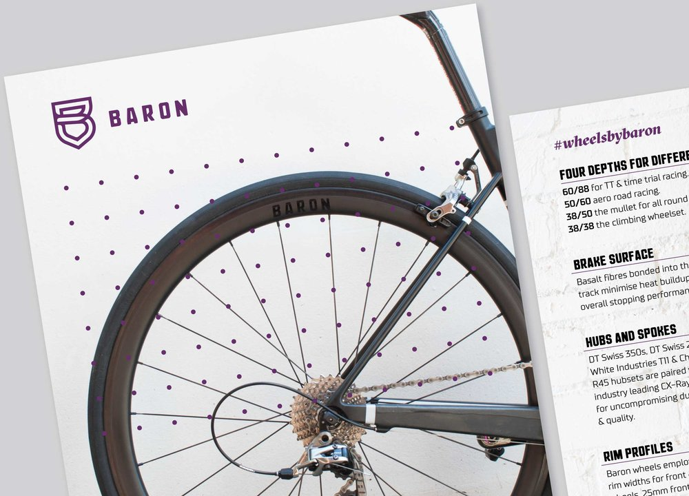 baron Cycling flyer