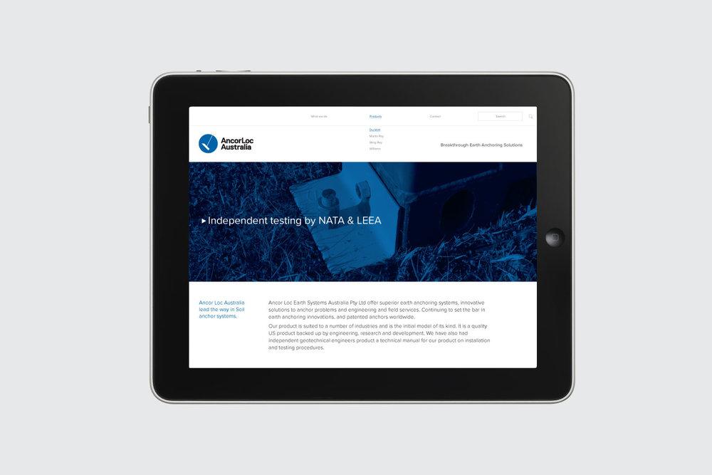 ancorloc custom website design build