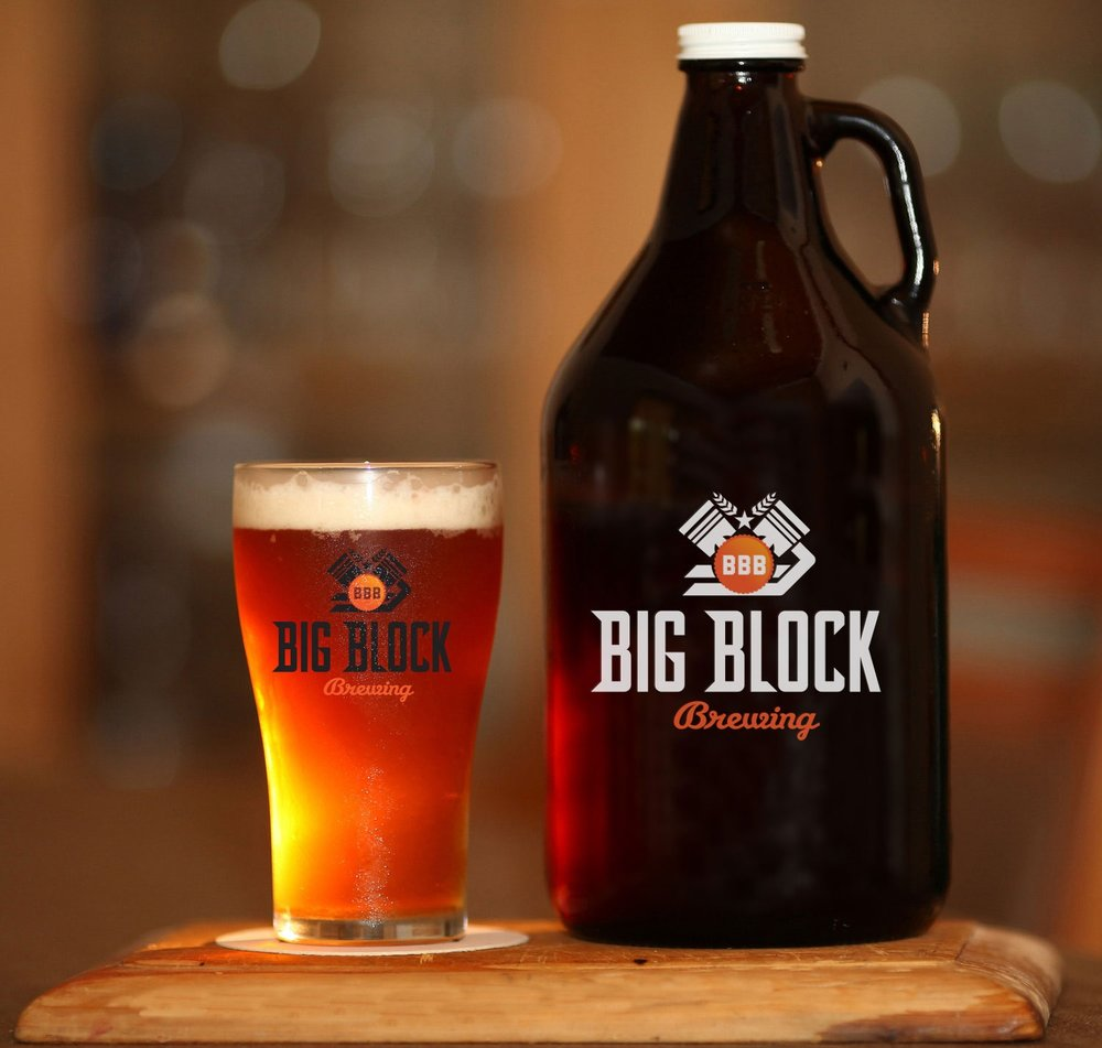 Big Block Brewing growler