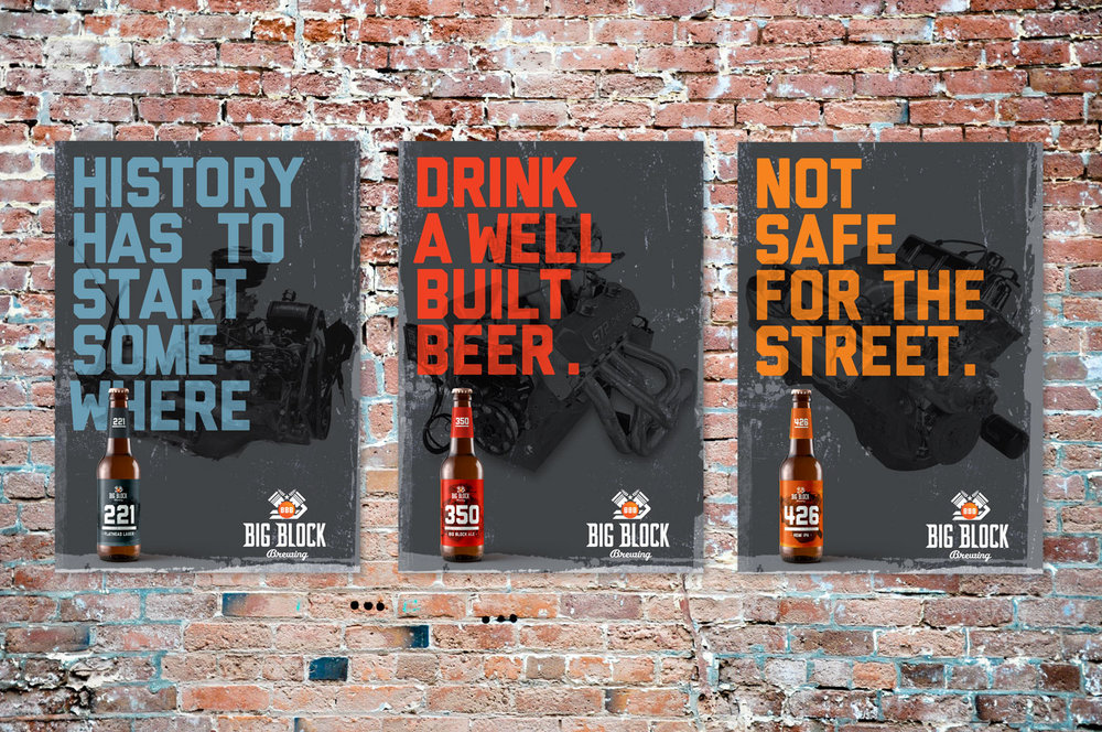 Big Block Brewing posters