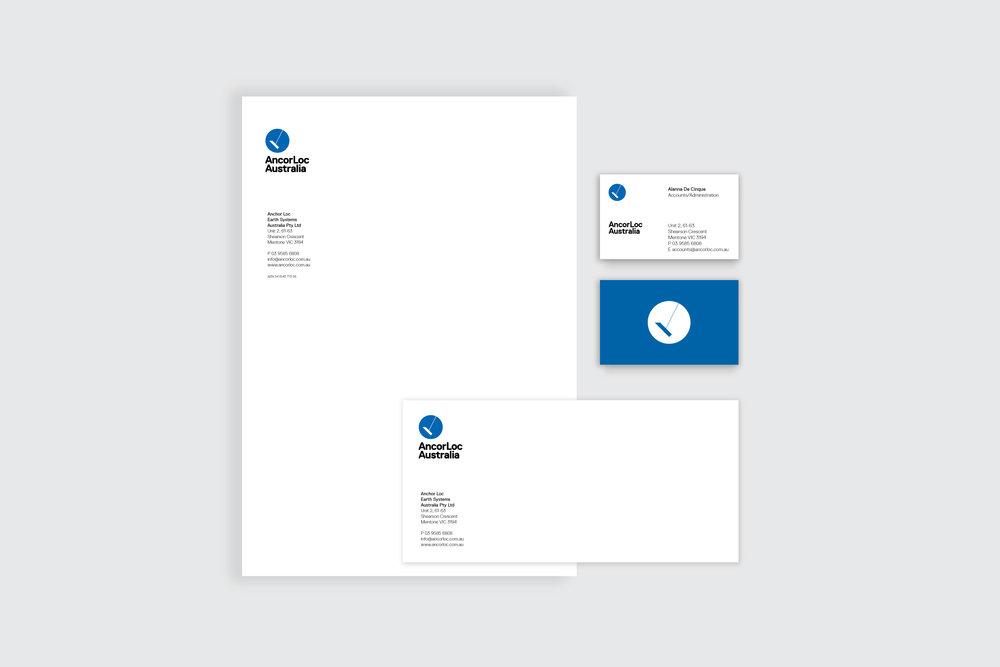 AcorLoc Logo design, branding and collateral