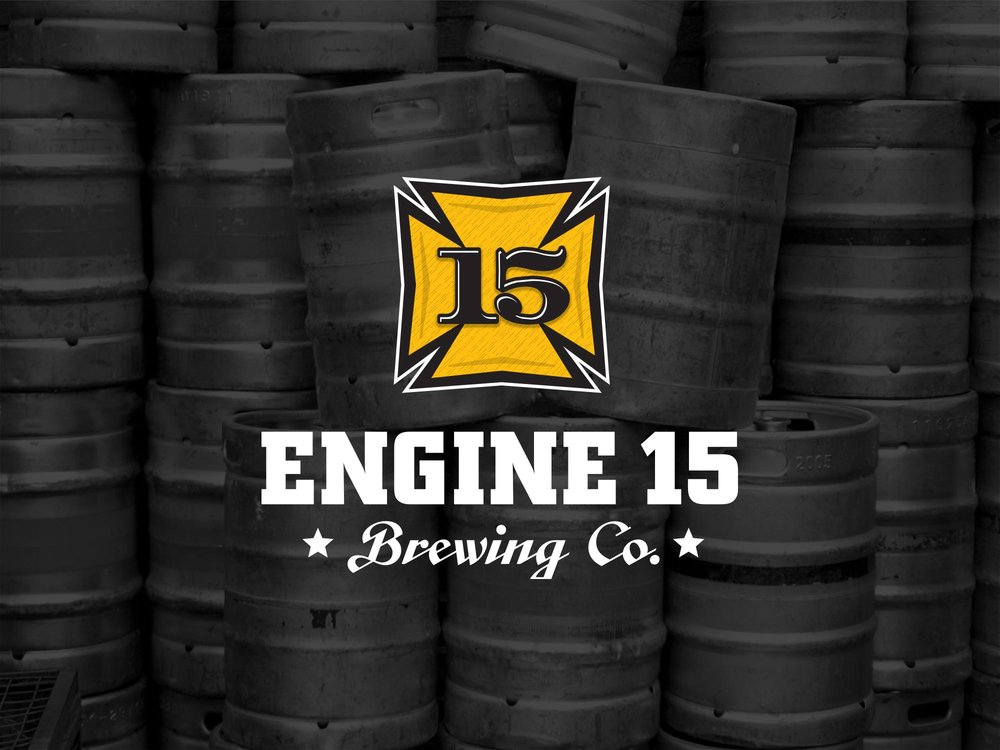 engine 15 logo design