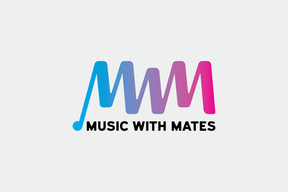 Music with Mates Logo