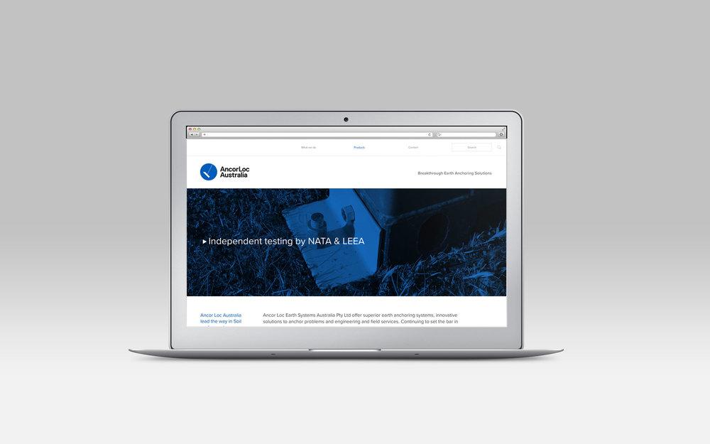 AcorLoc website design and build