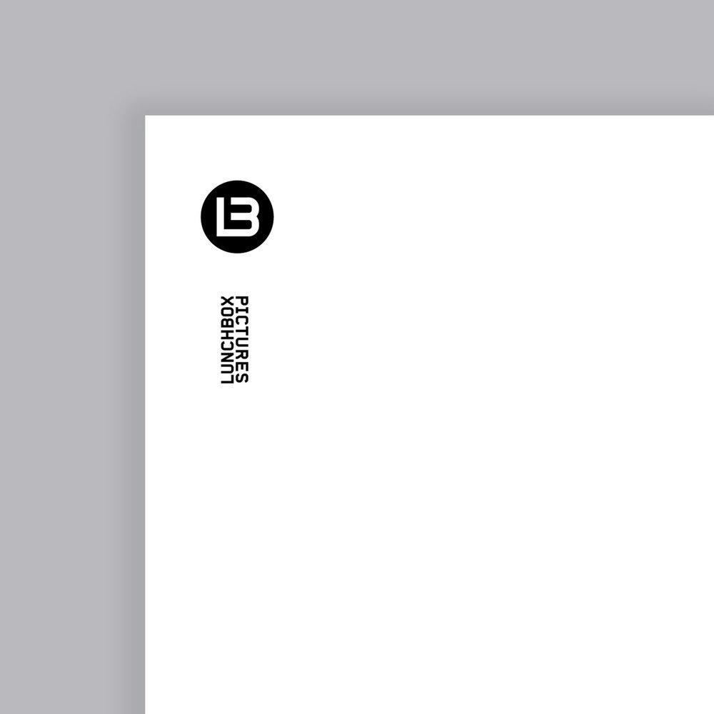 Lunchbox Pictures Logo design & Branding, Letterhead