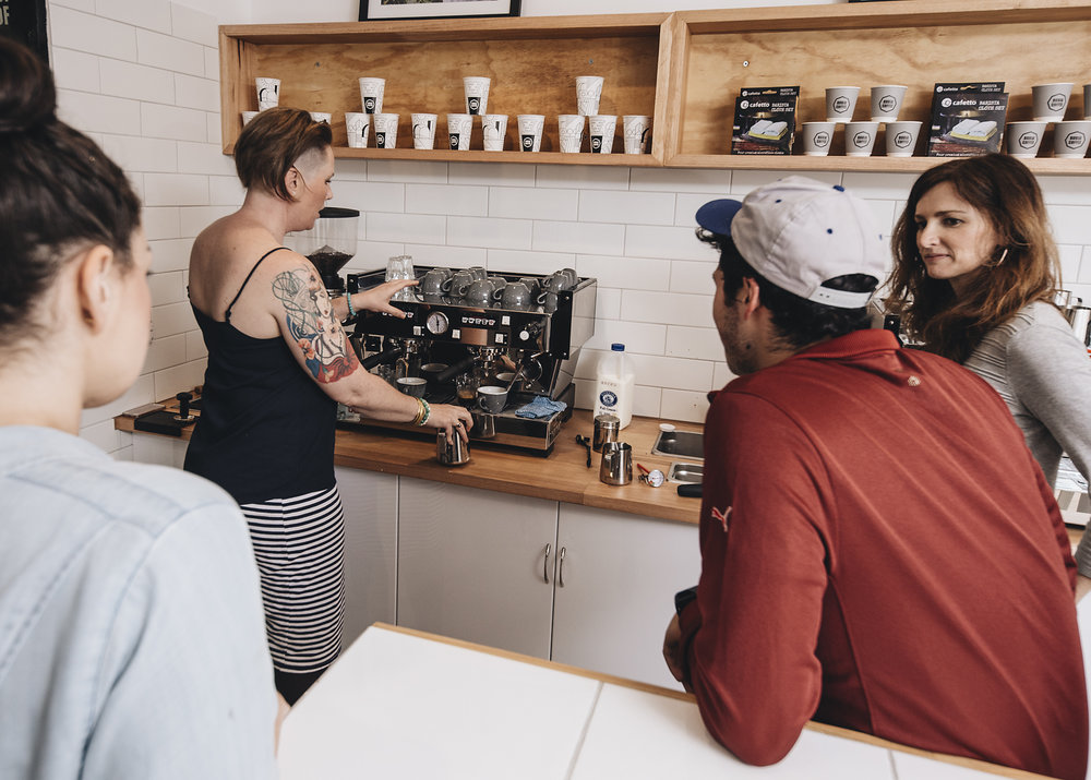 Rubia Coffee Barista classes