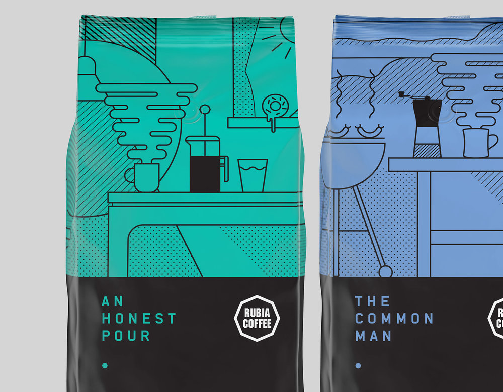 An honest Pour illustration close up Graphic design melbourne branding melbourne branding design packaging design melbourne design studio melbourne graphic design
