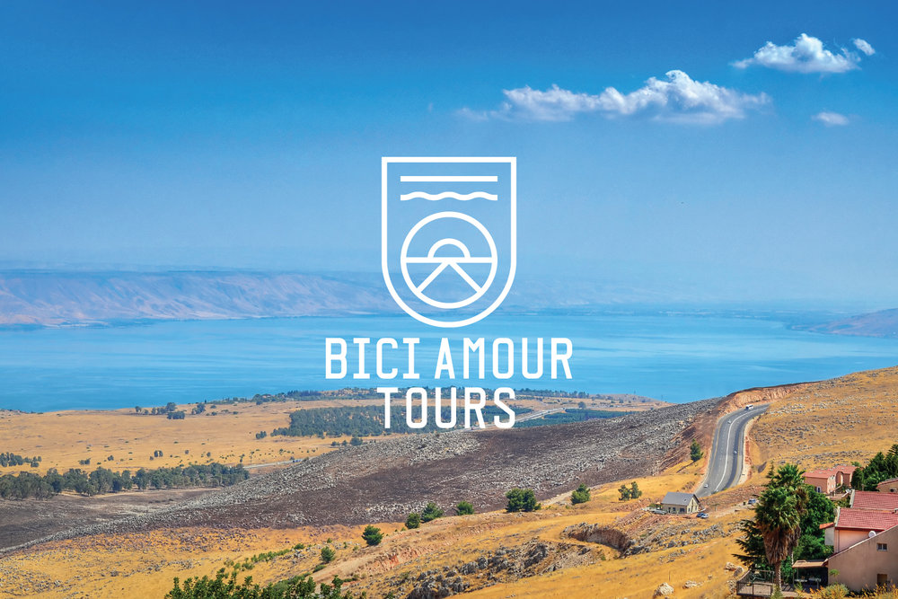 Bici Amour Tours Branding and collateral design cycling tours created by south branding design