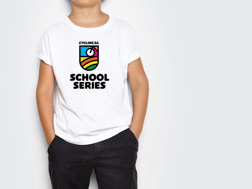 Cycling SA School Series Tshirt