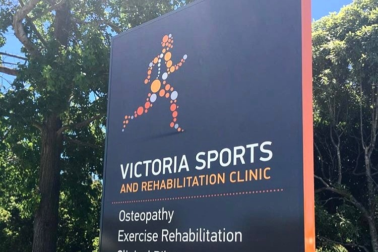 Vic Sports Rehab - Brand Rejuvination, Collateral, Environment