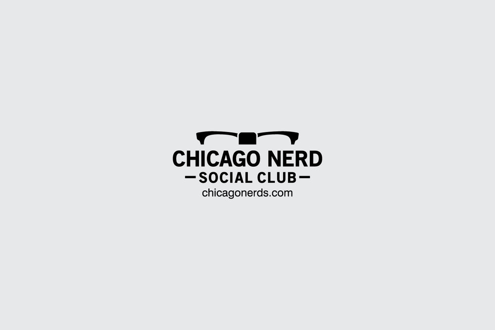 Chicago Nerds Social Club branding
