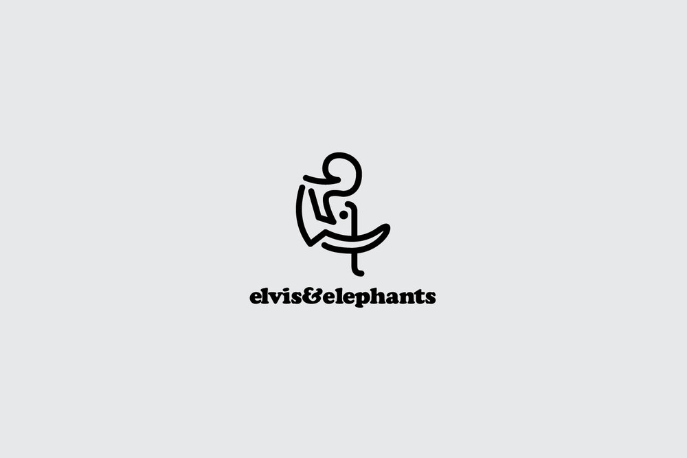 Elvis & Elephants logo