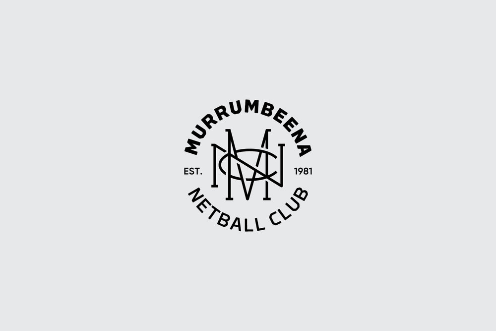 Murrumbeena Netball Club monogram