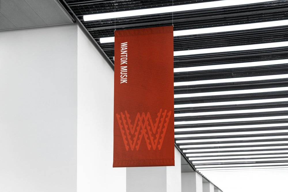 Wantok Musik - Branding, Collateral