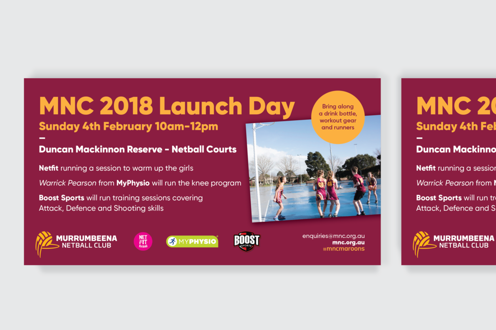 Murrumbeena Netball Club Promotion