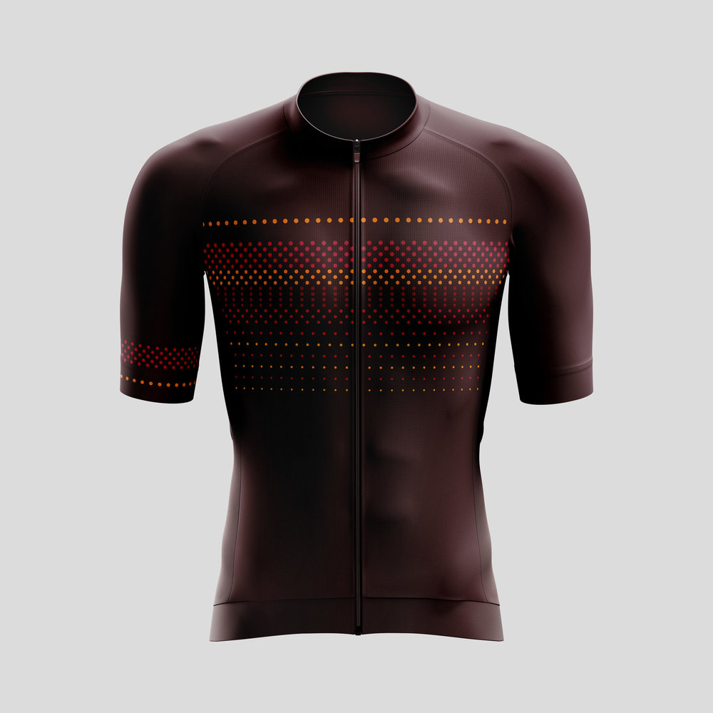 Dots cycling kit melbourne design
