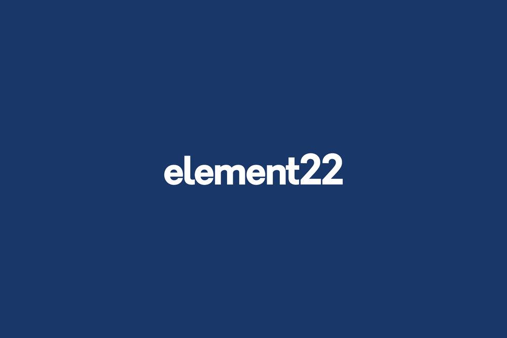 Element22 Wordmark