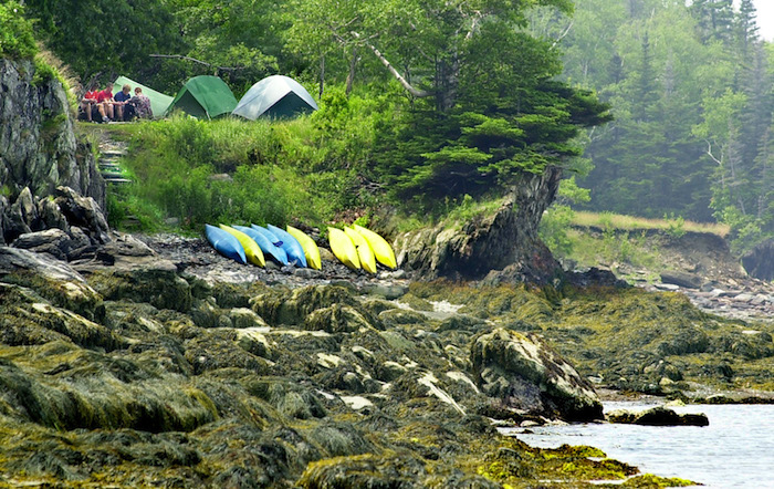 One of Jewell's Many Campsites