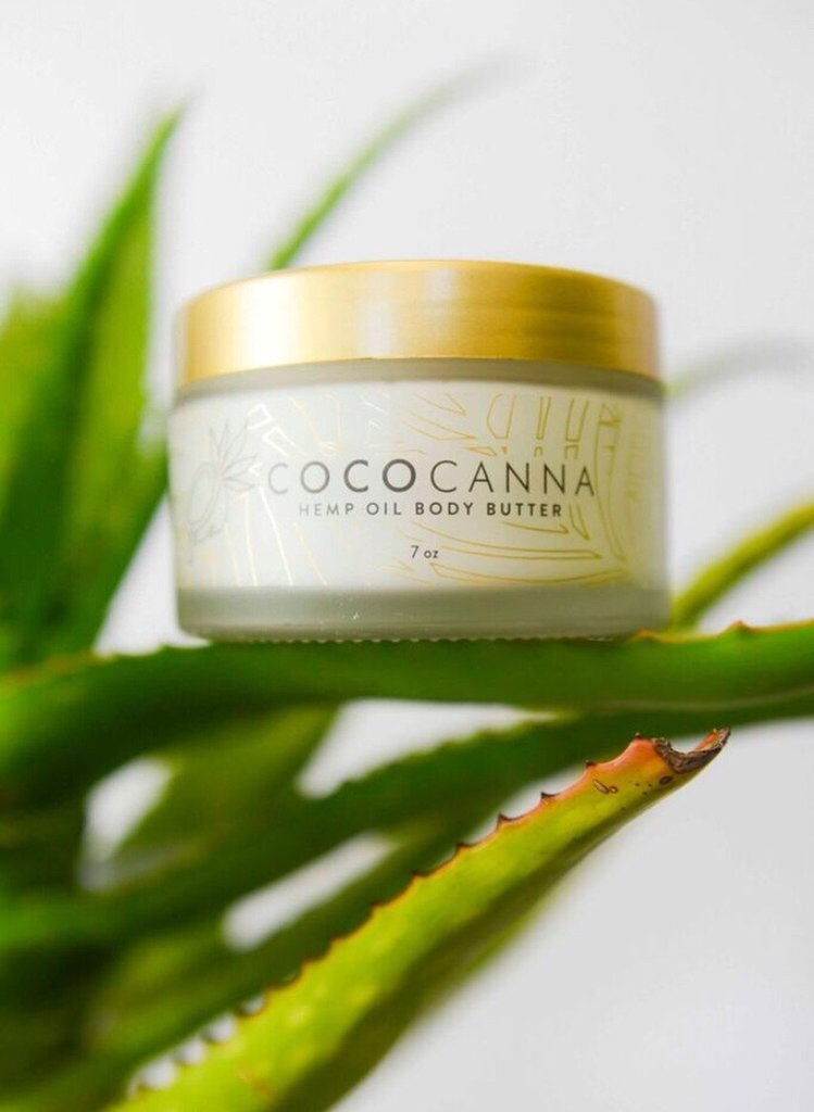 $68 Cococanna Hemp Oil Body Butter  (This is the cream I use on my face daily.)