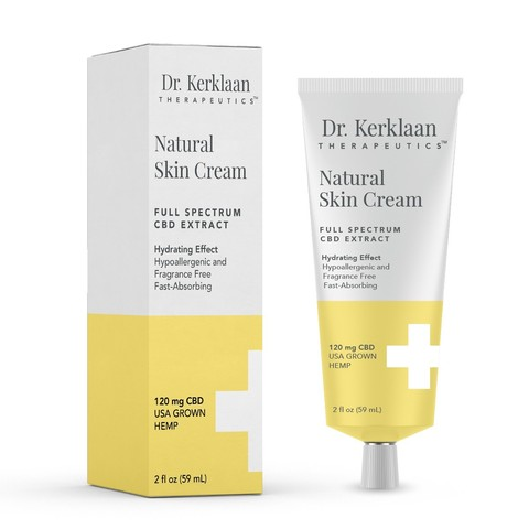$65 Dr. Kerklaan Natural Skin Cream (Sold out online, available in CA Dispensaries)