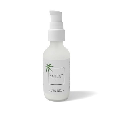 $48 Vertly HEMP CBD INFUSED RELIEF LOTION
