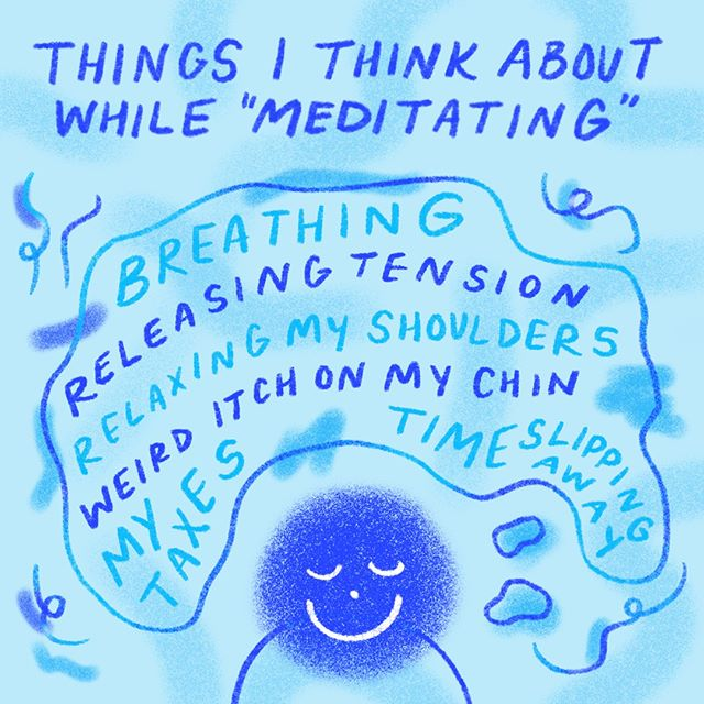 Trying to do something about my constant worrying but I can't escape my worrying 🆒 So relaxing‼️ Need more sound baths and guided meditations in my life ASAP.