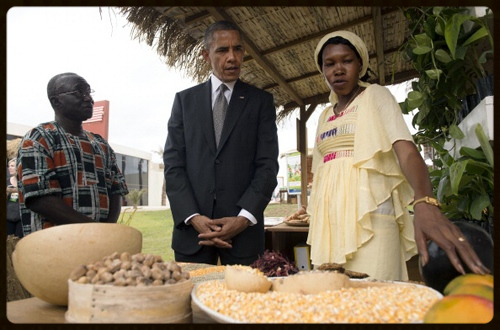 PRESIDENT OBAMA IN SENEGAL         SUPPORTING THE WORK OF NCBA CLUSA INTERNATIONAL
