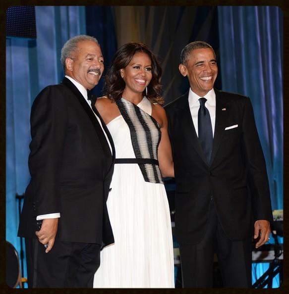 President Obama, Michelle Obama, and Congressman Chaka Fattah