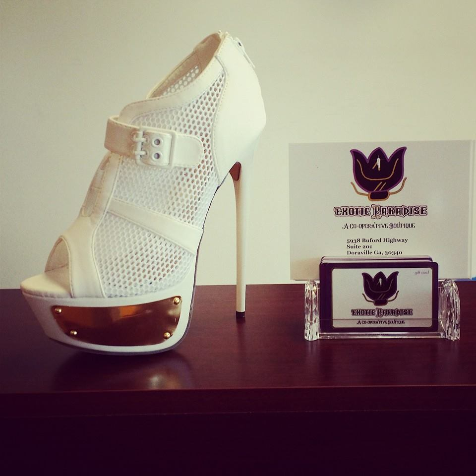 EXOTIC PARADISE GIFT CARDS AND SHOES