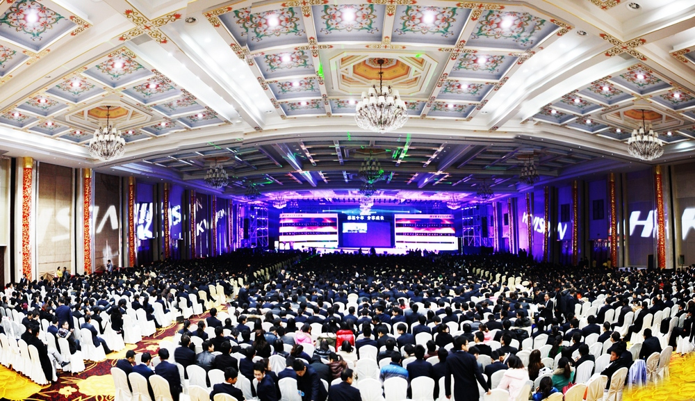 JANUARY 12, 2012 HIKVISION CELEBRATED 10TH ANNIVERSARY GALA IN ASIA