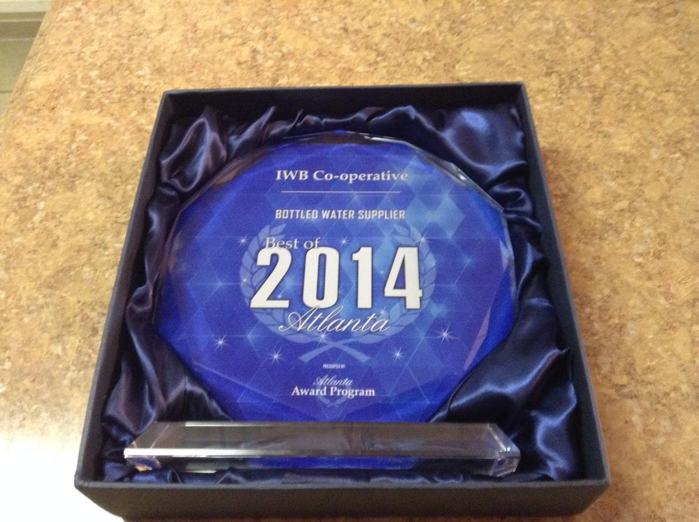 IWB CO-OPERATIVE 2014 BEST OF ATLANTA AWARD