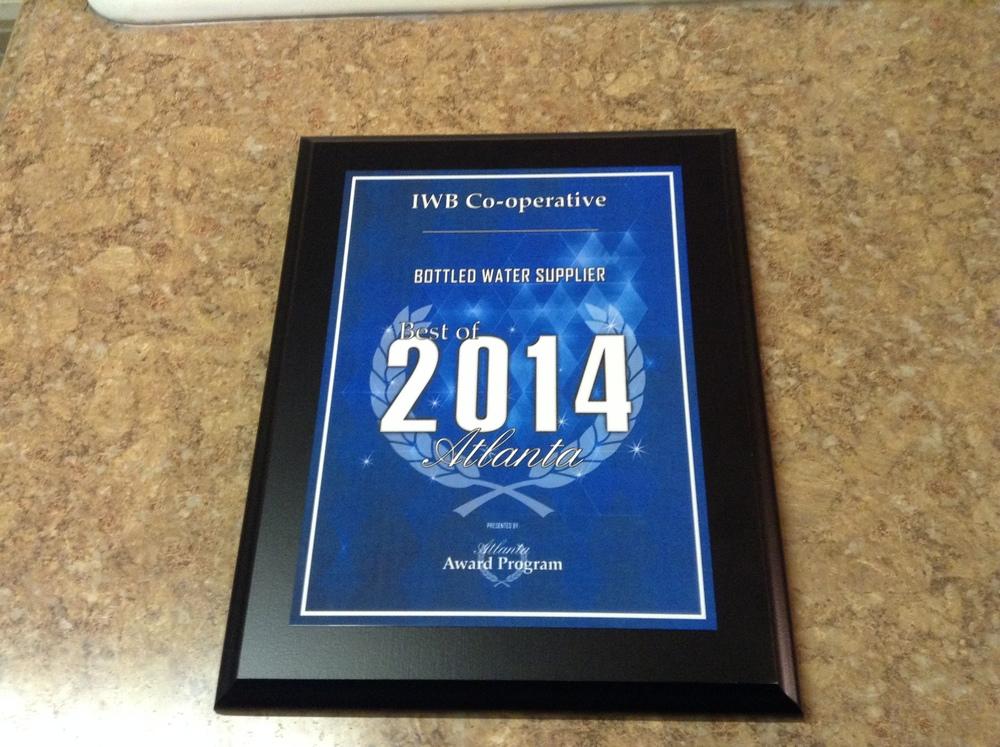 IWB CO-OPERATIVE BEST OF ATLANTA AWARD #2