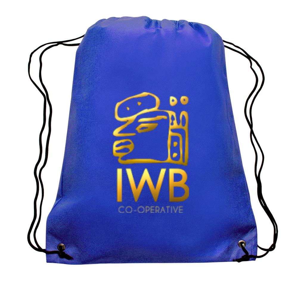 IWB BLUE COOP BAGS