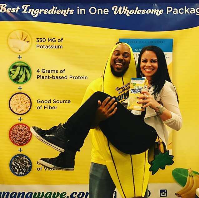 the best ingredients To Make You Strong Enough To Pick Her Up And The Banana Wave At The Same Time.