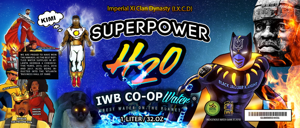 THE NEW SUPERPOWER H2O IS NOW ON DECK!