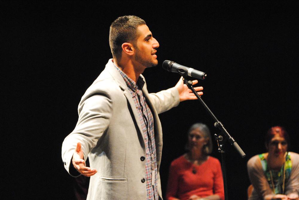NSW finalist Ahmed Al-Rady