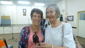Poets Jacqui and Robyn at the Banjo Paterson Festival