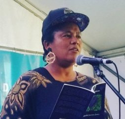 Gabrielle - is a poet, percussionist and event producer born on sovereign Gadigal Land, Sydney, Australia. She is from Maori and African American bloodlines and lives in the Illawarra, NSW with her family. Gabrielle has shared her poetry on open mics and by invitation at local, national and international events for over 20 years. Her first collection of poetry 'Spoken Medicine' was published in October 2017 by Ginninderra Press.Gabrielle is wholeheartedly inspired by and contributes to creative communities which celebrate diversity, activism, inclusion, kindness and compassion. Gabrielle encourages everyone she meets to speak their own medicine – to share the stories of their life journey in whatever forms feel safe, healing, authentic and most useful to them. Gabrielle facilitates spoken word poetry workshops, teaches drumming and leads drum circles.She is currently involved in a range of collaborative projects and events with Unspoken Words, Red Room Poetry, Kind ArtEd, South Coast Writers Centre and the Tasmanian Poetry Festival.Join Gabrielle and Wil from Unspoken Words at Bringing Everything.