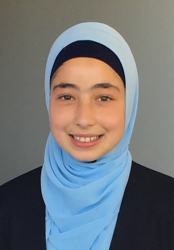 Nahida - is a 14-year-old girl who loves to perform and write poetry. She continuously strives to be the best leader possible, and inspire many of her peers. Nahida has a great passion for playing sport, and is a huge fan of the NRL.