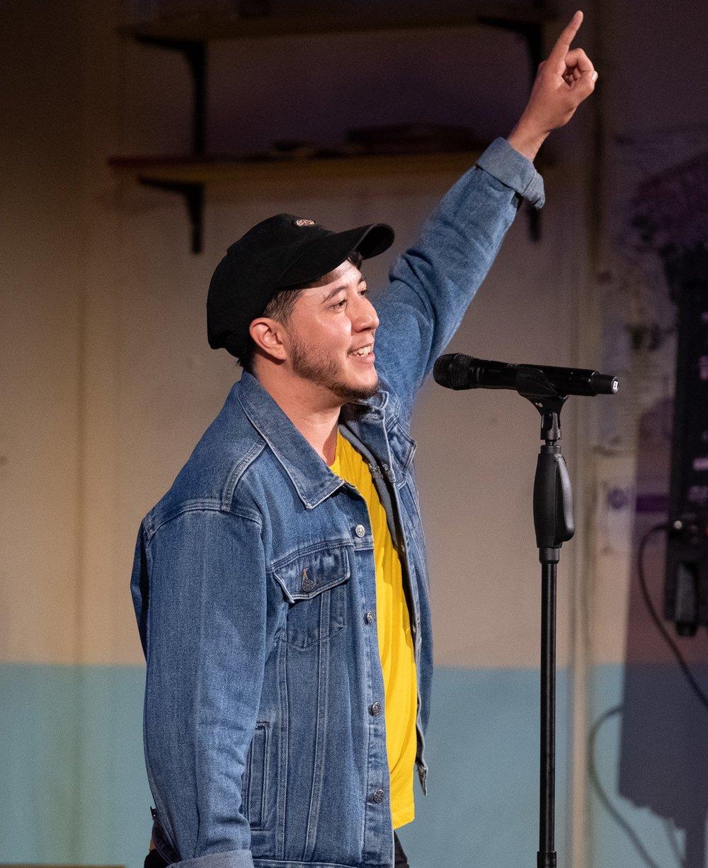 Jesse Oliver Australian Poetry Slam Champion Adult 2017