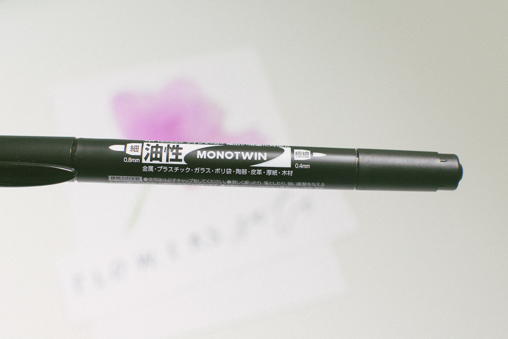 Tombow MONO Twin Permanent Marker